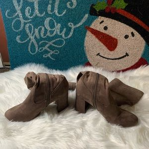 Women's forever 21 Brown Suede Boots